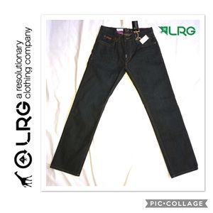 L-R-Geans True Straight Fit Jeans